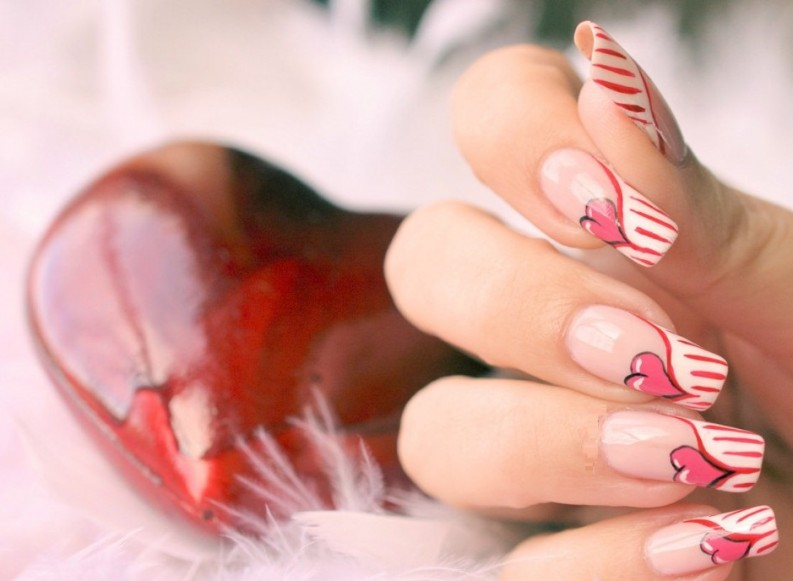 Comment réussir un nail art double french